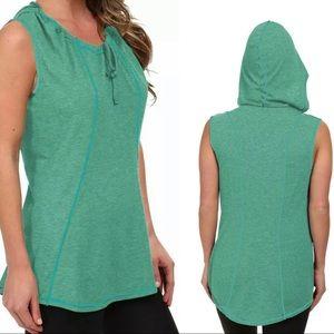 Lucy Activewear Devotion Hoodie Tunic - Seafoam
